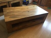 Coffee table & storage unit