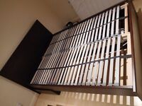 Bed frame BRUSALI w/ free Mattress