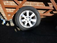 Mercedes ML270 Alloy Wheel and as New Tyre