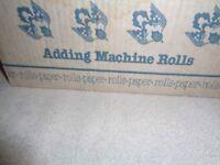 adding machine rolls
