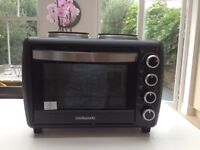 Cookworks Mini Oven + Hob - superbly efficient and convenient. Has only been used for 4 week period