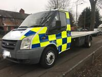FORD TRANSIT 2.4 T350L TILT AND SLIDE RECOVERY TRUCK 2007 NEW ENGINE FITTED WITH RECEIPTS