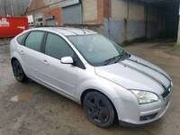 2007 FORD FOCUS 1.8 STYLE TDCI 5 DOOR HATCHBACK SILVER 12 MONTHS M.O.T