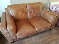 Leather Sofa - 2 seater from John Lewis