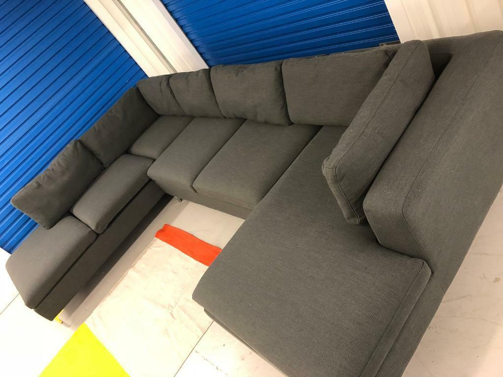 new concept ecd57 1fb46 Ex-display MADE COM MONTEROSSO 4 SEATER LEFT HAND FACING CORNER SOFA IN  OYSTER GREY - RRP £1299 | in Norwich, Norfolk | Gumtree