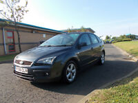 FORD FOCUS ZETEC CLIMATE 1.6 HATCHBACK STUNNING GREY 2006 BARGAIN ONLY 1450 *LOOK* PX/DELIVERY