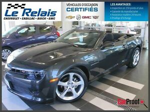 2015 Chevrolet Camaro **CONVERTIBLE, RS 4573 KM**