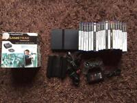 PlayStation 2 console, lots of games. Ps2