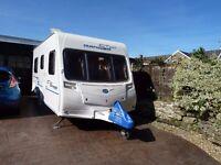 2010 Bailey Ranger GT60 460/4 4 Berth Fixed Bed Caravan with all equipment