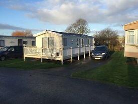 MANOR PARK HUNSTANTON HOLIDAY HOME 2014 2 BEDROOM WiTH DECKING 2 BATHROOMS EXTRAS £29950