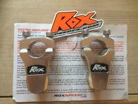 Motorcycle handlebar risers. Rox speed FX