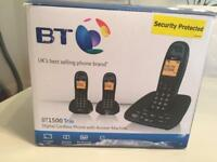 Telephones - BT 1500 Trio