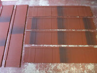 Metrotile 'shingle tile' lightweight metal roofing sheets