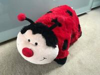 LADYBIRD PILLOW PETS CUDDLY TOY / CUSHION