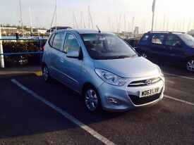63 PLATE HYUNDAI i10 SILVER CAT C 10,000 MILES ONLY EXCELLENT CONDITION