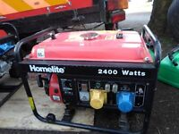 petrol generator ,1st time starter, just been serviced, NO TIMEWASTERS THANKS ## RING ONLY #