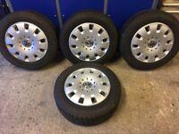 Van winter tyres on VW rims