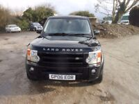 Landrover Discovery TD V6 Automatic 2006-06-Plate