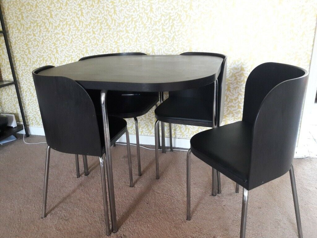Ikea Fusion Dining Table 4 Chairs Local Delivery For Cost