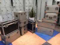Job Lot 11 x Equipment Road Cases/Sound-Lighting Flight Case Equipment Storage