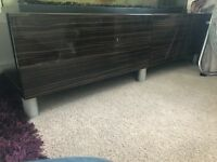 Tv Bench, with Drawers