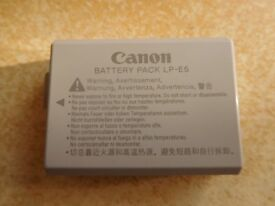 Used Canon Battery Pack LP-E5