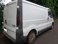 2006 6 speed renault traffic 1.9 diesel taxed good runner needs some tlc DRIVEAWAY OR DELIVERY