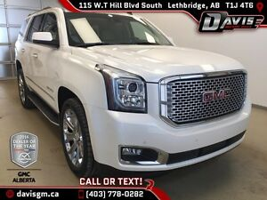 Used 2015 GMC Yukon 4WD Denali-Navigation, 7 Passenger, Heated/C