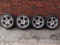 ford focus profile wheels and tyres and wheel nuts