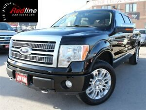 2009 Ford F-150 Platinum 4X4 SuperCrew Nav-Camera-Sunroof