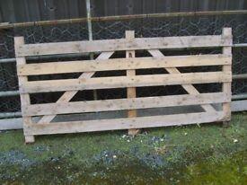 Wood Sheep Bars