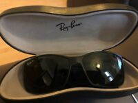 Immaculate Condition GENUINE Ray-Ban Liteforce Tech Matte Black/Polarised