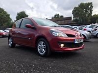 2006 RENAULT CLIO 1.4 DYNAMIQUE ** ONLY 54000 MILES +1 FORMER KEEPER + 12 MONTHS MOT + FSH **