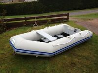Wave Eco 4 person Dingy with extras, never been in water!