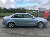 ***AUDI A4 2.0 TDI 140 BHP 2005 BLUE***QUICK SALE REQUIRED! GREAT RELIABE WE CAR CLEAN!!