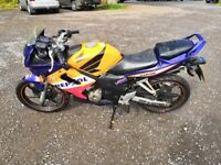 Honda CBR 125 RS-5, 2005, 10,000 REPSOL. new MOT.