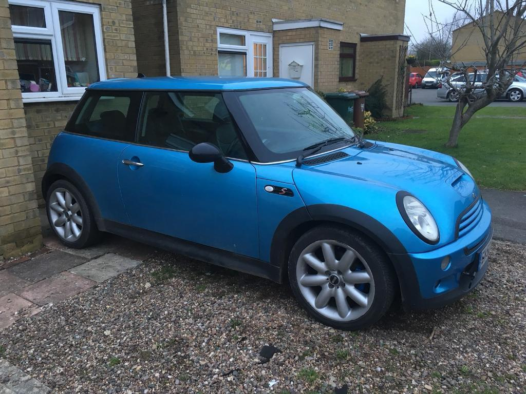 R53 Mini Cooper S supercharged 2002 52 plate cash or swap offers