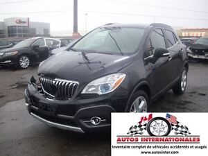 2015 Buick Encore LEATHER AWD 4CYL 1.4T MAG KEYLESS CAMERA DE RE