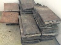Collection of 40 or so roof tiles - free to collector in good condition