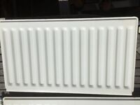 Two White Single Convector Radiators 1000mm x 450mm & 800mm x 450mm Bleeding Valve £20 each Used