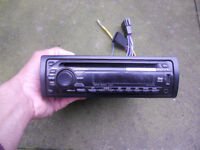 Sony Xplod Stereo LOUD with Aux-in and USB MP3 CD Player radio face-off with Bluetooth option