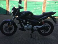 Cheap 125 learner legal motorbike lexmoto zsx