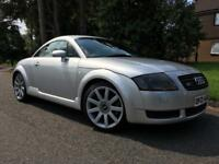 2001 Audi TT Quattro 225 bhp 2 keys. Mot 20 October 2018