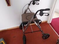 Collapsible walker.. Rollater