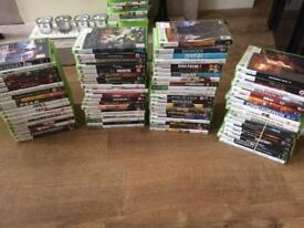 Massive joblot xbox 360 games mixed lot working CAN SPLIT
