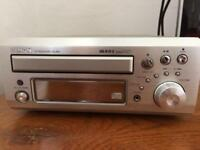 Denon UD-M31 CD Receiver Stereo with Speakers, Remote and Antenna