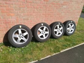 Winter tyres on Alloy wheels - for Mazda CX5