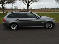 BMW 320d SE Estate 2L Diesel Grey 2008 58 leather Excellent Condition