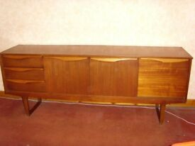 Retro, Mid Century Wooden Sideboard