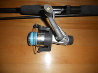 Canne moulinet combo Quantum, Fishing rod and reel